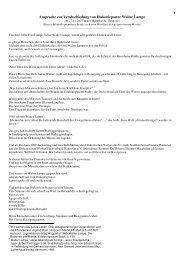 Ansprache zur Verabschiedung von Walter Lampe - Evangelisch ...
