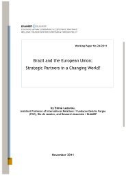 Brazil and the European Union: Strategic Partners in a Changing ...