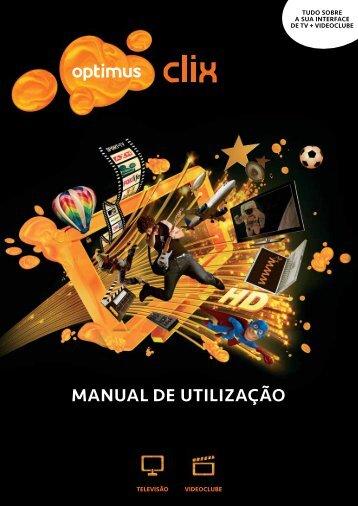 MANUAL DE UTILIZAÇÃO - Clix