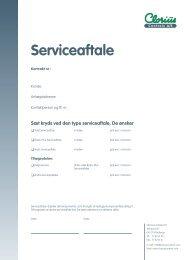 Clorius Serviceaftale ISO 75-95-02.C05 - Clorius Controls