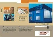 Unternehmensfolder - Registerstanzerei Braun GmbH