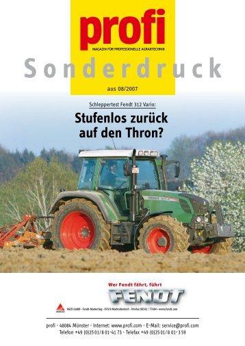 fendt 312 Vario - AGCO GmbH