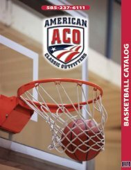 ACO BASKETBALL CATALOG - American Classic Outfitters
