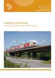 Radanpidon paikkatiedot - Lähtötilanne, tarpeet ja ... - Liikennevirasto