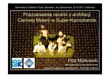 M - Warszawska Grupa Neutrinowa