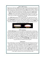 What is HID Xenon? High Intensity Discharge (HID) is a new type of ...