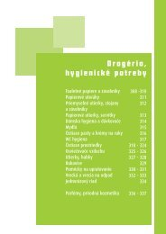 Drogéria, hygienické potreby - Idee.sk