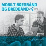 Mobilt bredbånd og Bredbånd V17 pr. 14.05.2012 - Telenor