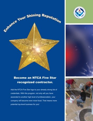 E nhance Your Shining Reputation - National Tile Contractors ...