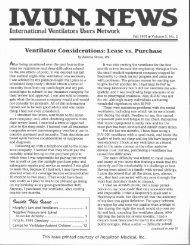 IVUN News (Fall 1991, Vol.5, No. 2) - Polio Place