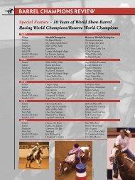 BARREL CHAMPIONS REVIEW - Paint Horse Racing