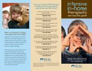 Intensive In-Home Services - RHA Behavioral Health