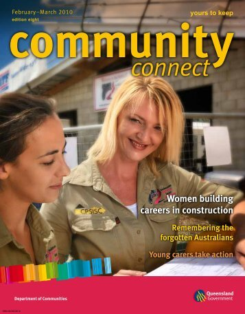 Community Connect Edition 8 - Department of Communities, Child ...