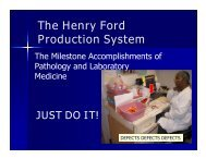 to download slides from the presentation... - Michigan Lean ...