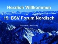Titelmasterformat durch Klicken bearbeiten - Bayerischer Skiverband
