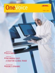 Tech Savvy The Middle east: a hub for Global Trade Deere's ...