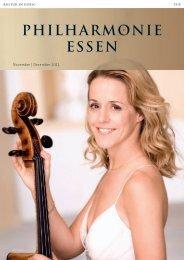 November | Dezember 2011 - Philharmonie Essen