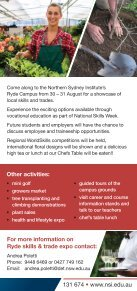 Ryde Skills and Trade Expo 2013 - Page 2