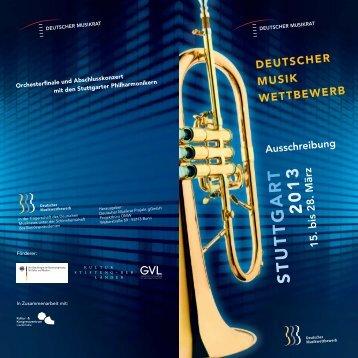 DEUTSCHER MUSIK WETTBEWERB - Zum Musikrat - Deutscher ...
