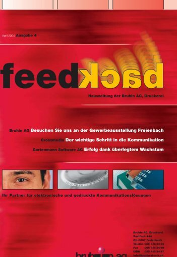 Bruhin AG Besuchen Sie uns an der Gewerbeausstellung Freienbach