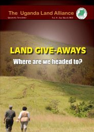 to download - Uganda Land Alliance