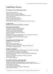 Fragenkatalog zur Anamnese - Arbeitsstelle Frühförderung Bayern