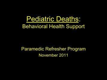 stress management for the trauma service provider - UCLA Center ...