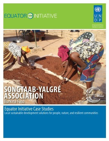 Songtaab-Yalgré Association, Burkina Faso - Equator Initiative