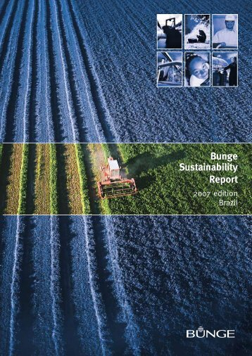 Bunge Sustainability Report