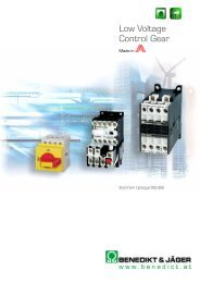 Low Voltage Control Gear