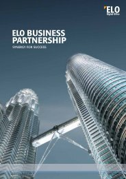 ELO Business Partnership Brochure - ELO Digital Office