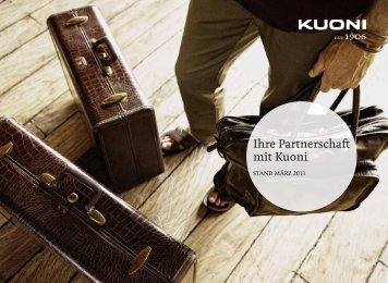 Kuoni Partnership-Marketing (iPad optimiert) deutsch - Kuoni Reisen