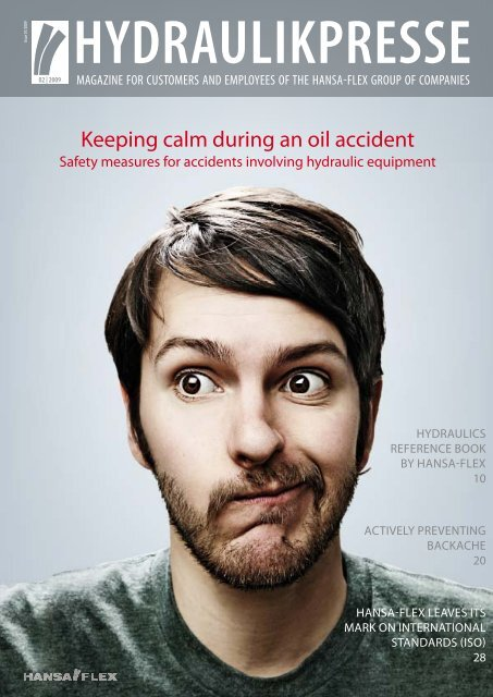 Keeping calm during an oil accident - Hansa Flex