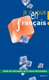 Je clique en français - Office québécois de la langue française