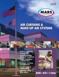 AIR CURTAINS & MAKE-UP AIR SYSTEMS AIR ... - Mars Air Products