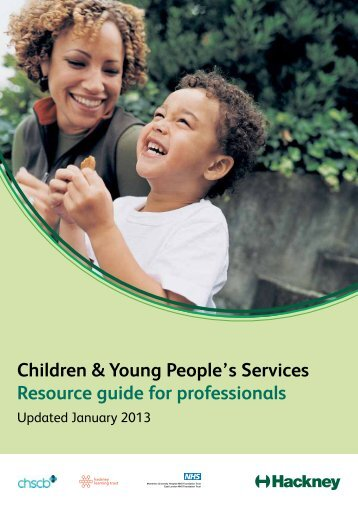 Children & Young People's Services Resource guide for professionals