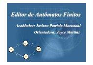 Editor de Autômatos Finitos - Projeto Pesquisa