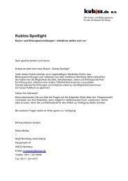 Fragebogen als PDF herunterladen - Kubiss.de