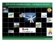 EDP and Renewable Energies