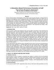 A Simulation Based Performance Evaluation of VoIP - Bangladesh ...