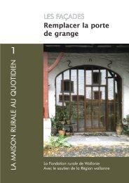 Remplacer la porte de grange LES FAÇADES - Fondation rurale de ...
