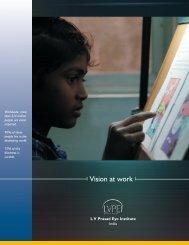 Vision at work_broucher_fnl.pmd - LV Prasad Eye Institute