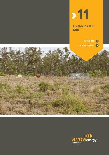 11 Contaminated Land - Arrow Energy