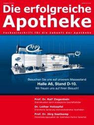 Ausgabe 10.2012 - Die erfolgreiche  Apotheke