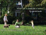 11666 CH 2012 AR Rev.indd - Catholic Health System