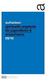 auftanken spirituelle angebote für jugendliche & erwachsene 09/10 ...