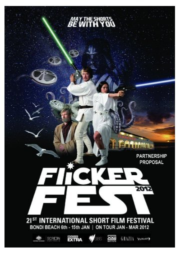 Please click here to download our 2012 Partnership - Flickerfest