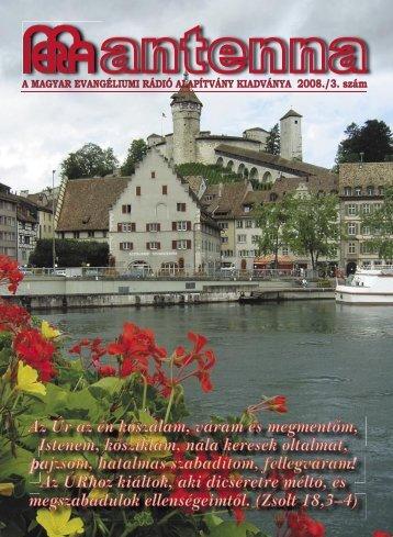 2008 3. szám - Magyar Evangéliumi Rádió