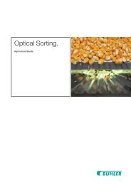 Optical sorting solutions for seeds from B