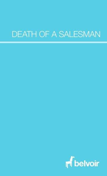 Death of a Salesman  – Program - Belvoir St Theatre